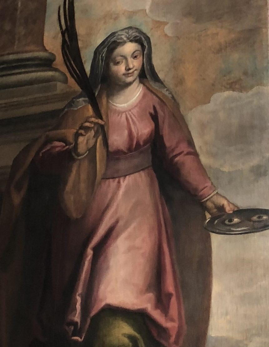 We remember to Saint Lucy