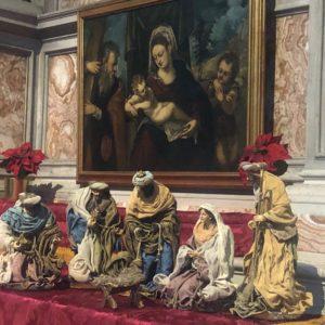 Il Presepe al Santuario
